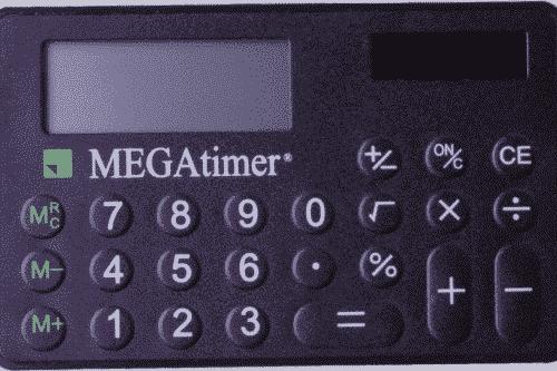 MEGAtimer Cardrechner