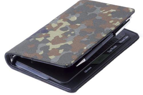 Organizer a6 mit camouflage look