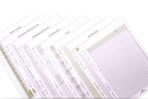 Einlagen PASSPORT A6 Ringbuch