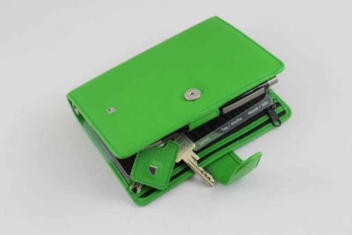 Megatimer Passport leder a6 grün
